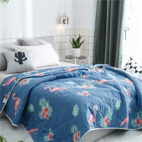 Flamingo Blanket Bed Comforter