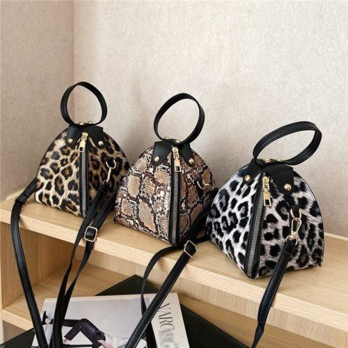 Leopard Print Handbag Ladies Bag