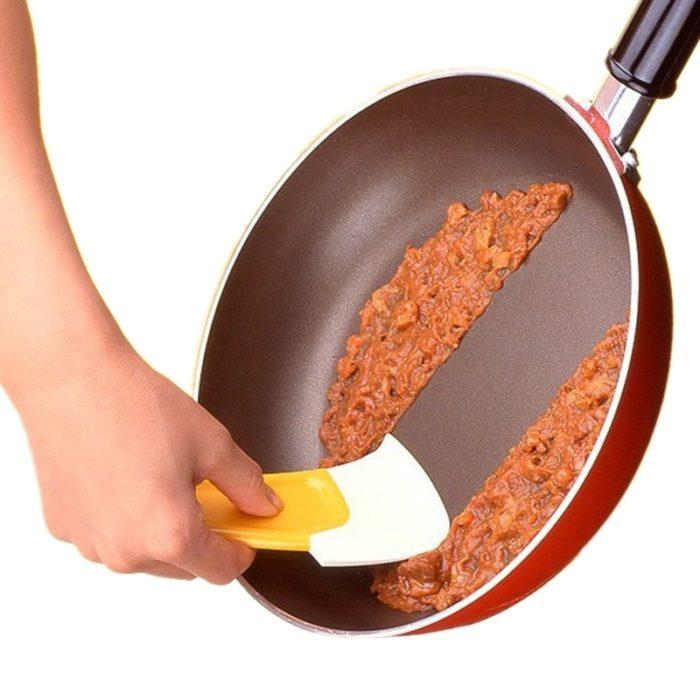 Pan Scraper Silicone Kitchen Spatula