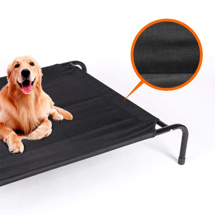Elevated Pet Bed Portable Design