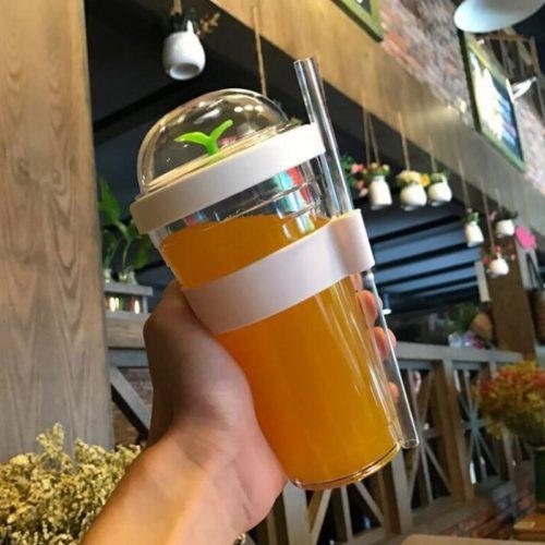 Reusable Bubble Tea Cup