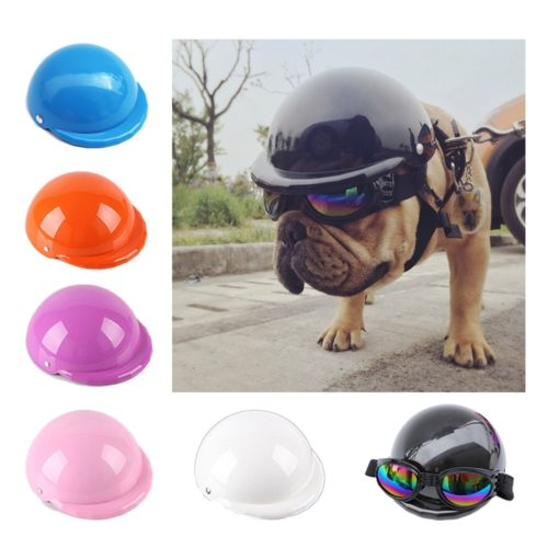 Dog Motorcycle Helmet Dog Head Protection