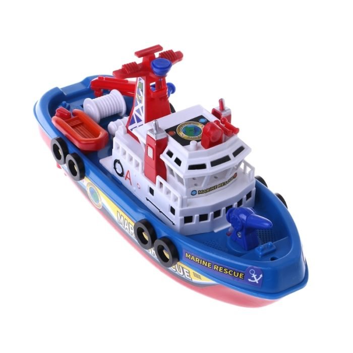 Kids Toy Boat Marine Rescue Fire Boat
