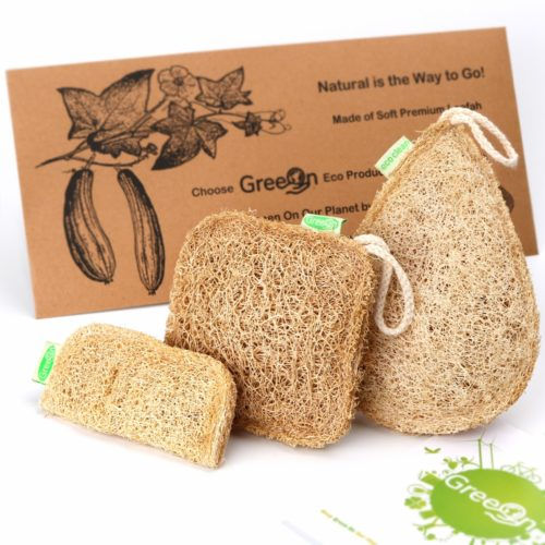 Natural Loofah Kitchen Sponge