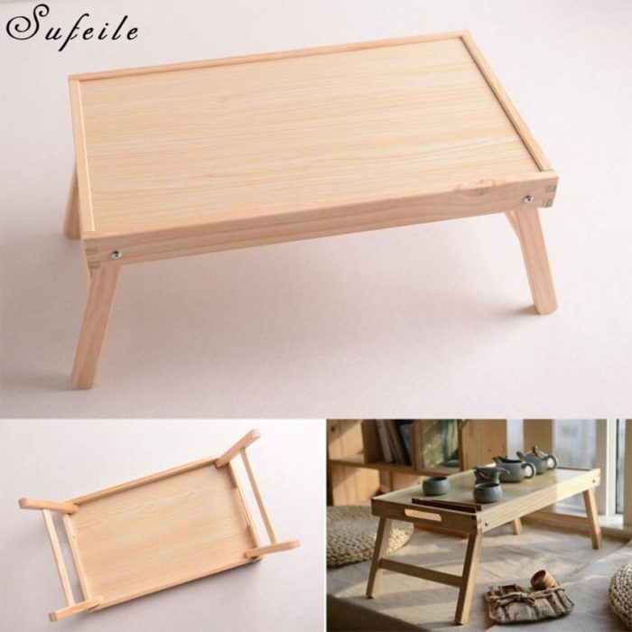 Foldable Bed Table Portable Desk