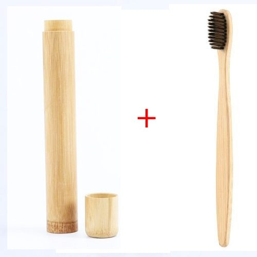 Biodegradable Toothbrush with Container