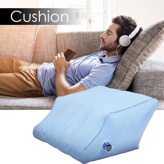 Leg Wedge Pillows Inflatable Pillow With Pump