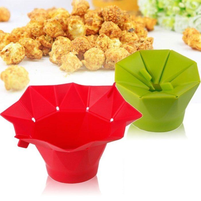 Silicone Popcorn Popper Microwave-Safe