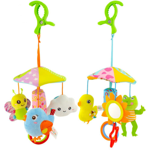 Baby Crib Mobile Plush Toys