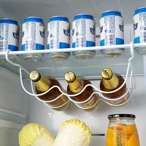 Fridge Wine Rack Bottle Organizer