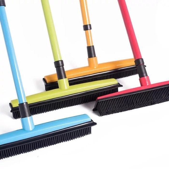 Rubber Broom Floor Sweeper Mop