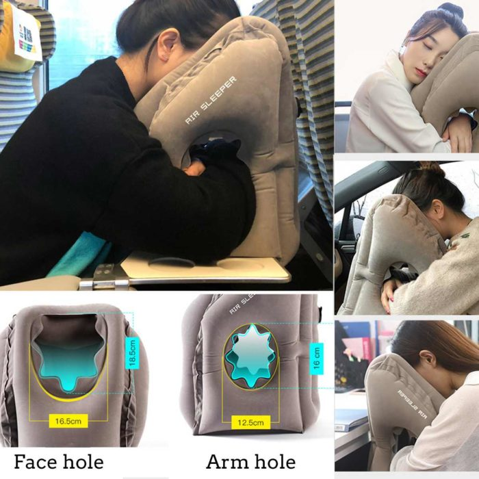 Air Pillow for Travel Head Rest
