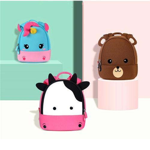 Childrens Backpack Cute 3D Cartoon Bag