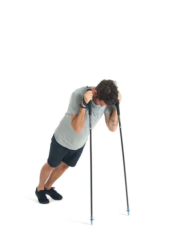 Adjustable Walking Stick Ultralight Hiking Stick