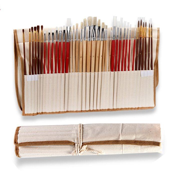 Synthetic Paint Brush 38PCS Set