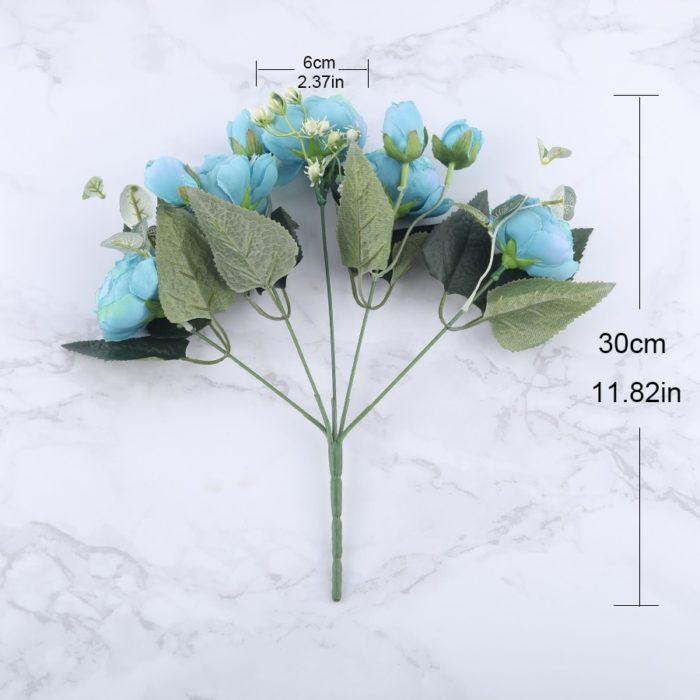 Artificial Peonies Decorative Flowers