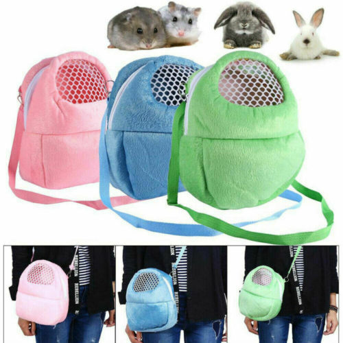 Hamster Travel Cage Sling Bag