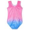 Girls Gymnastics Leotard Sleeveless Bodysuit