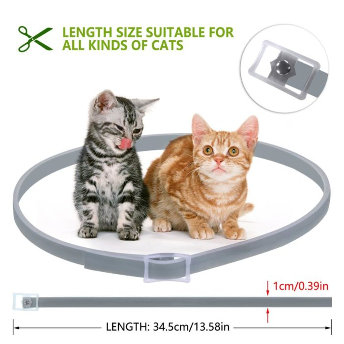Flea and Tick Collar for Cats 8 Months Protection