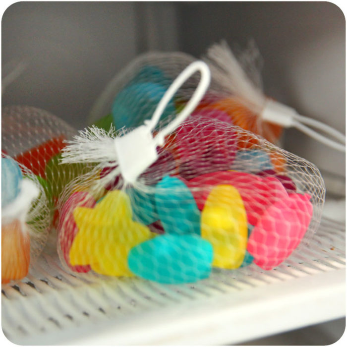 Plastic Ice Cubes 6PCS Reusable Ice