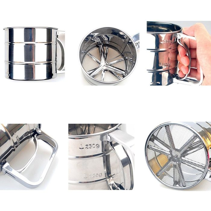 Sifter for Baking Stainless Bakeware