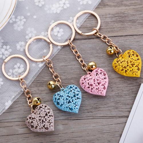 Heart Keychain Cute Keyring Ornament