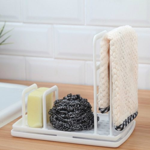 Kitchen Sponge Holder Rag Rack