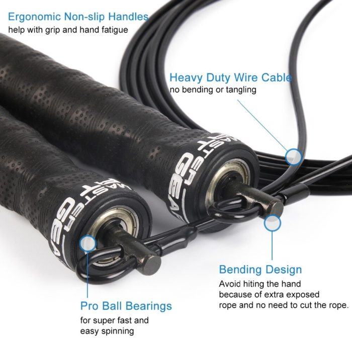 Weighted Jump Rope Workout Skipping Rope