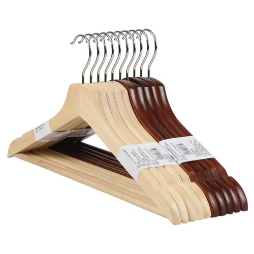 Wooden Clothes Hangers Closet Organizer