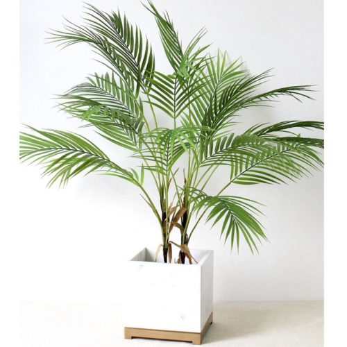 Artificial Palm Leaves Home Decor