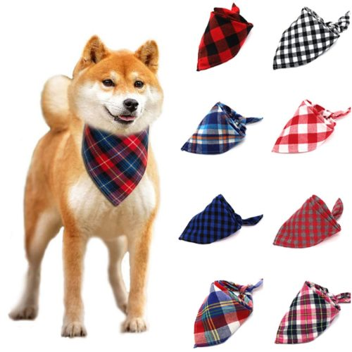 Dog Bandana Collar Pet Fashionable Scarf