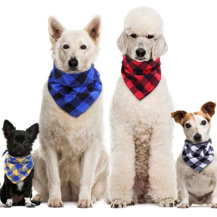 Dog Bandana Collar Pet Fashionable Scarf