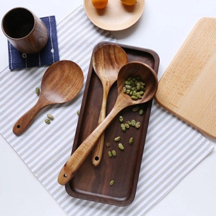 Wooden Kitchen Utensils Cooking Tools
