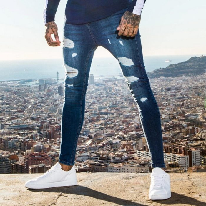 Ripped Jeans For Men Denim Pants