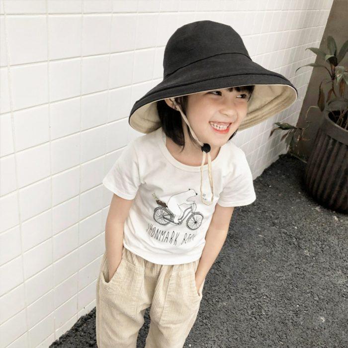 Childrens Sun Hat Summer Bucket Hat