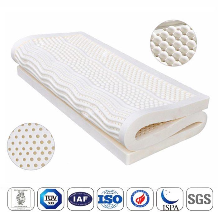 Latex Foam Mattress Bed Cushion