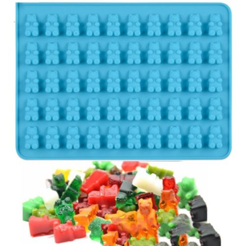 Gummy Bear Mold with Dropper