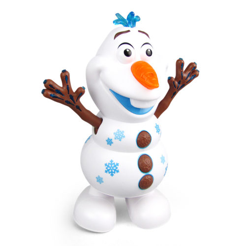 Dancing Snowman Toy Battery Powered