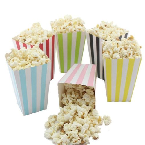 Popcorn Containers Popcorn Boxes (12pcs)
