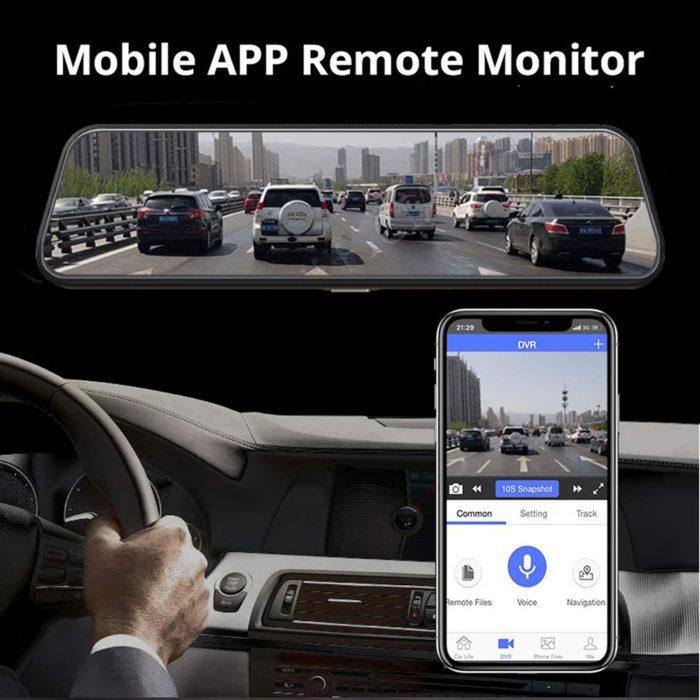 Mirror Dash Cam Car Safety Accessory