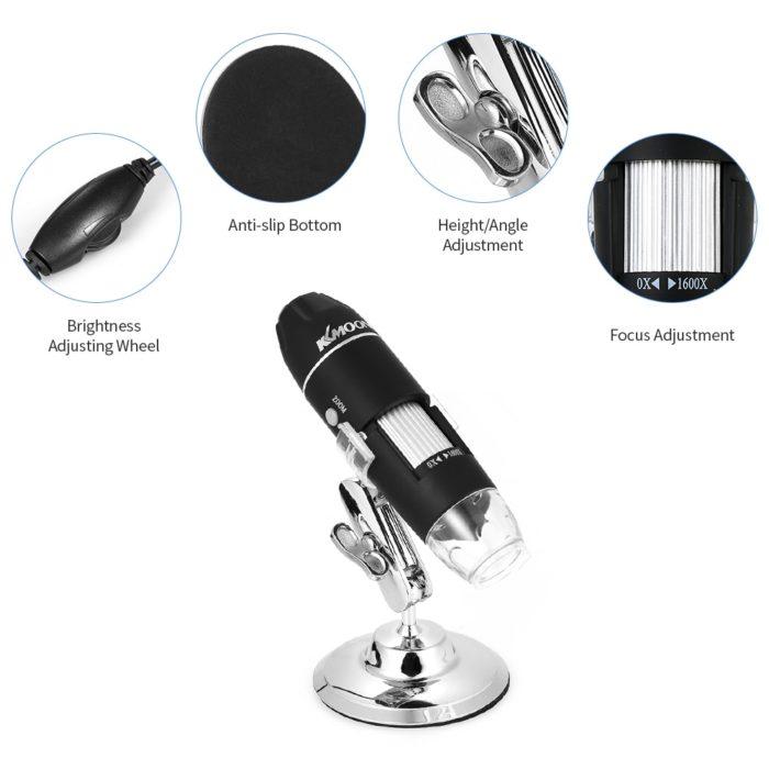Portable Microscope USB Magnifier