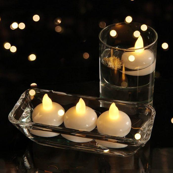 Floating LED Candles 12PCS Set