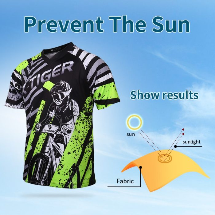 Mountain Bike Jersey Sportswear For Men