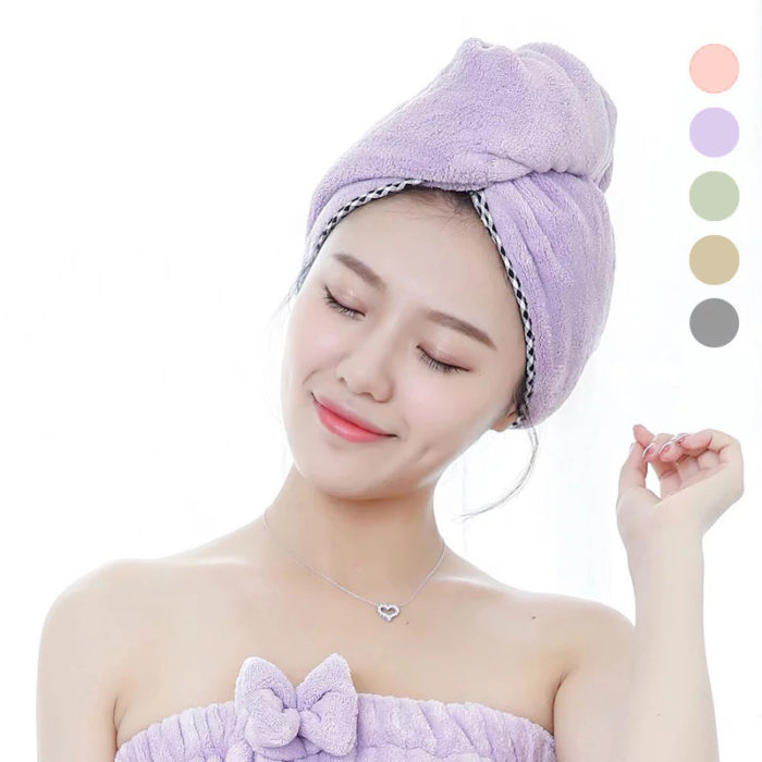 Quick Dry Hair Towel Super Absorbent Towel