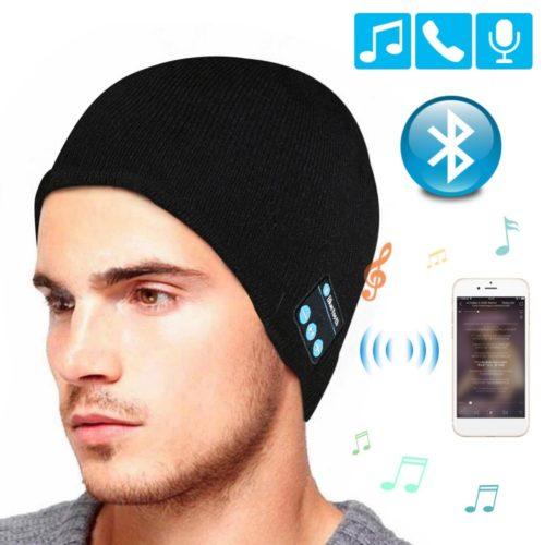 Beanie with Headphones Stylish Hat