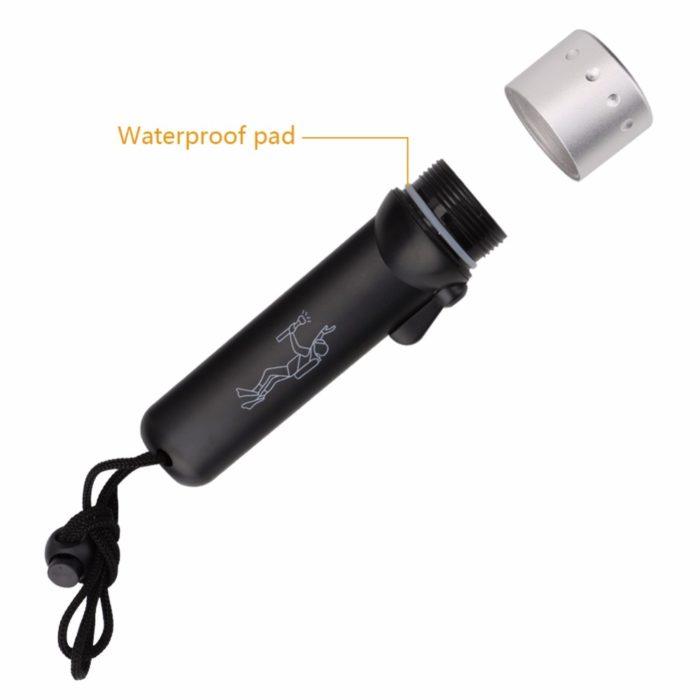 Diving Flashlight Waterproof Scuba Torch