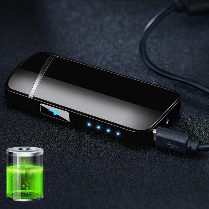 Flameless Lighter Fingerprint USB Plasma