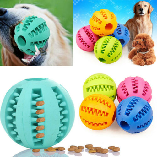 Dog Treat Ball Chew Toy Treat Dispenser