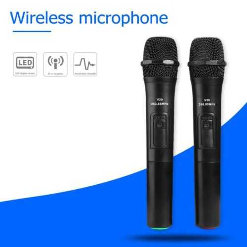 Cordless Microphone 2PCS Handheld Device