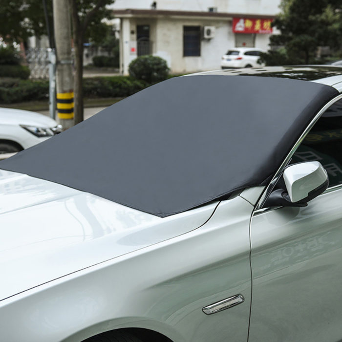 Winter Windshield Cover Magnetic Sunshade